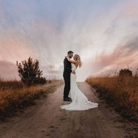 Outdoor weddings on the rolling grens and moonah trees