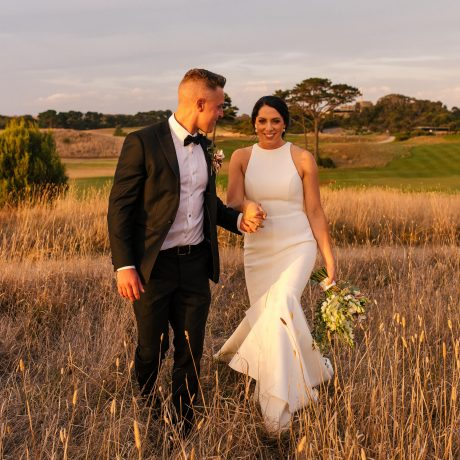 Wedding ceremony on the Mornington Peninsula