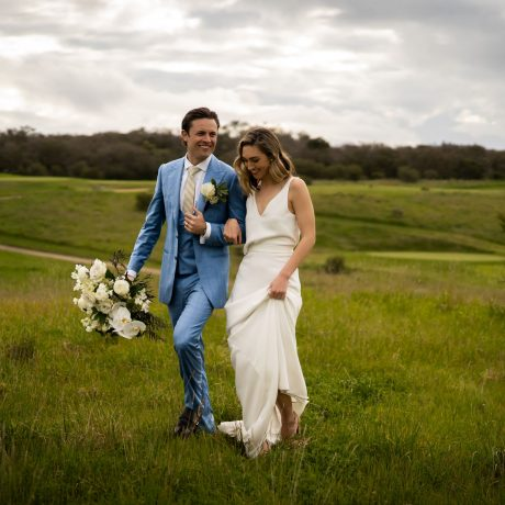 Meadow Wedding at Peppers Moonah Links Resort on the Morninton Peninsula