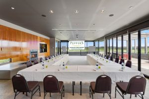 Peppers Moonah Links Resort Conference Centre has the luxury executive lodges to get set up as u-shape which would suit smaller conference groups.