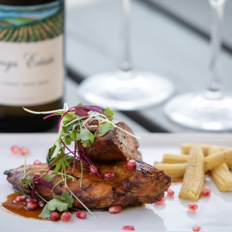 Enjoy everything Mornington Peninsula has to offer by dining at Pebbles Restaurant